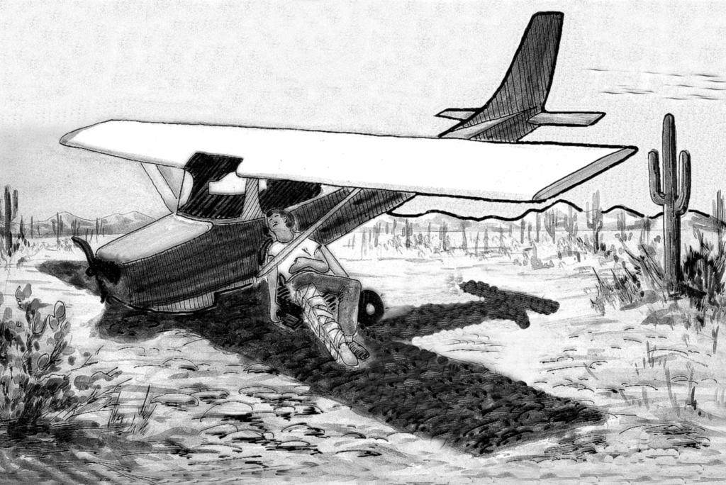 Aircraft Technical Book Company Improvised Uses for Aircraft Parts (Continued) Shelter support, platform, water filter (when inverted and filled with sand, vegetation and charcoal), shade.