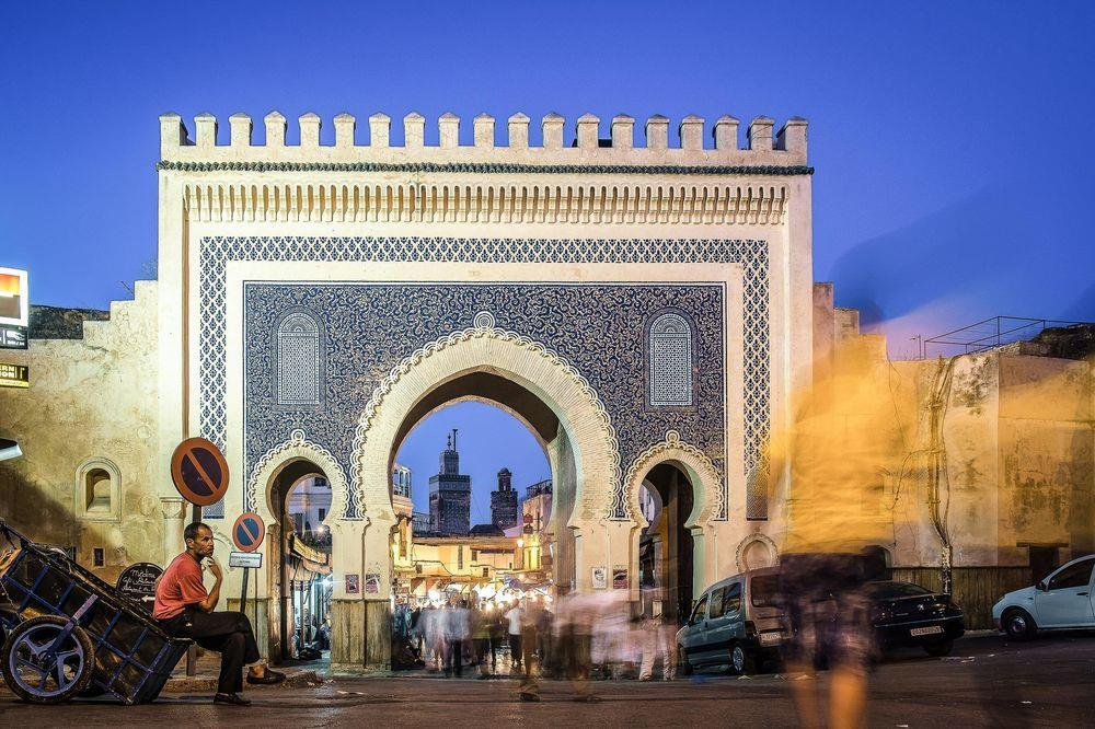 In the afternoon, panoramic tour and free time for shopping. Lunch today at your hotel in Fez.