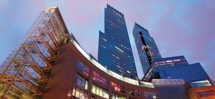 Access to Time Warner Center and its luxury boutiques and restaurants ROOMS & SUITES 198 guestrooms and 46 suites