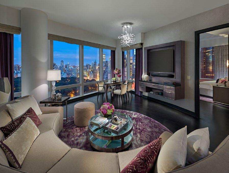 TWO BEDROOM CENTRAL PARK WEST SUITE These