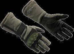 GL-SOG750 BLK D-3A Black Leather Gloves Genuine Cowhide Leather Cotton Pull Closure