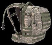 BLK ACU MLT CAM Camelbak Motherlode Main compartment with zippered mesh pocket and