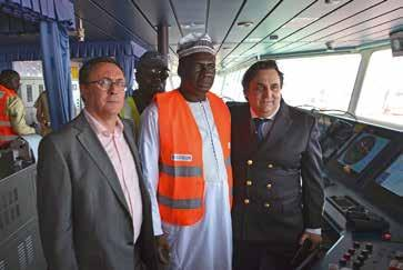 NEWS Dakar calls the Port of Dakar Last 5th of May the crew of the vessel Dakar hosted a reception to celebrate its first call in the Port of Dakar.