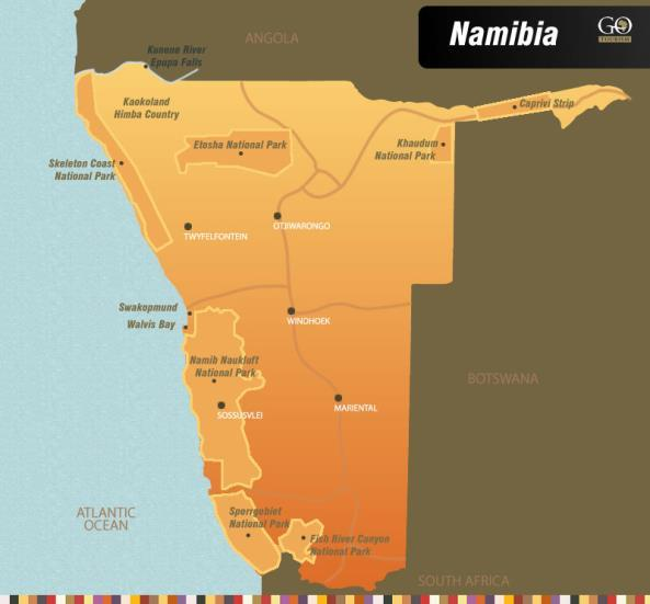 Namibia Namibia is an exceptional destination that catapults you into the very heart of a