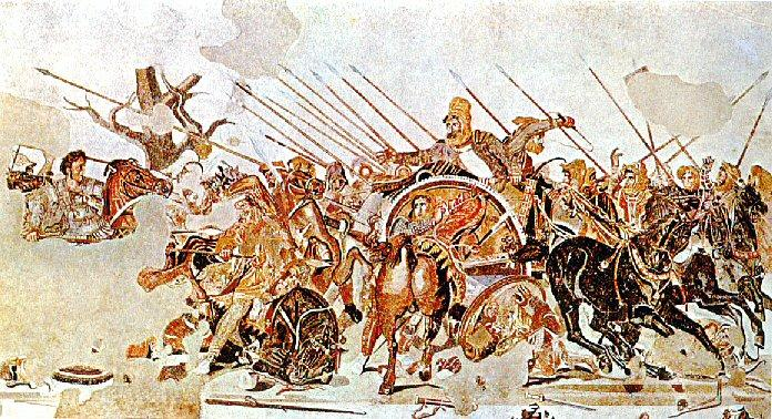 In November 333, Alexander the Great and his trusted general Parmenion defeated