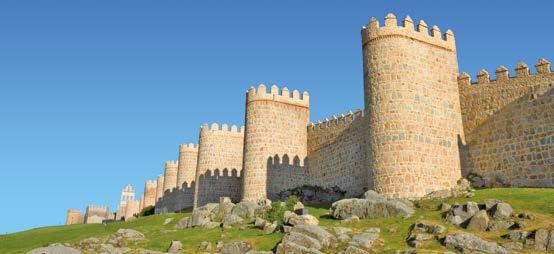 Day 3 (Saturday) -AVILA- SALAMANCA-OPORTO After breakfast we start our escorted tour by motorcoach. Arrival in Avila, castilian city which preserves its medieval wall.