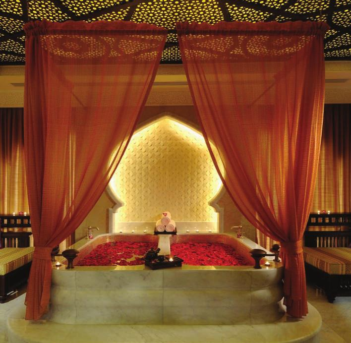 The Spa Experience untold luxury in the surroundings of mystical allure.
