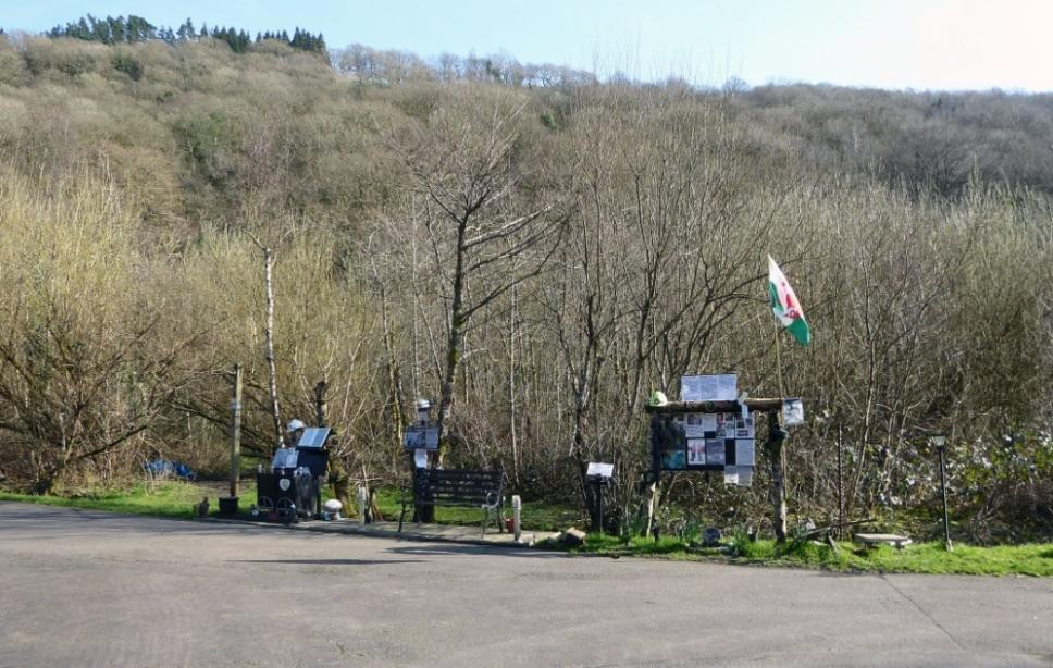 Memorial to the miners who