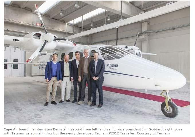 Fleet update: Cape Air is pursuing a new-generation twin-engine