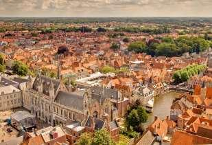 Day 5: Ghent - Bruges 50 km The historical centre of Bruges is part of the world famous Unesco world heritage site list.
