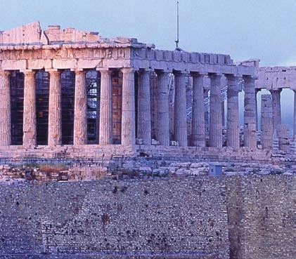 MULTIMEDIA I CONNECTIONS Ancient Greece The Acropolis of Athens symbolizes