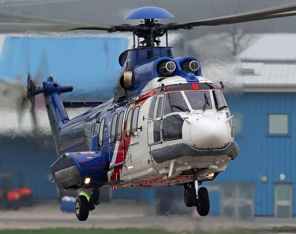 AIRCRAFT EQUIPMENT MANUFACTURER HELICOPTER STEERABLE SEARCHLIGHT UK GOVERNMENT CLASSIFIED SYSTEM DEVELOPMENT TRIAL GLOBAL HELICOPTER SERVICE PROVIDER H225 HELICOPTER Turn-Key Certification for Market