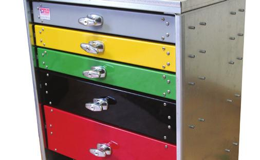A MERIC AN E AGLE D R A W ER SY S T EM S Standard features for all drawer systems Individual Locking Drawers - all of the drawers on an American Eagle drawer system have individual locks.