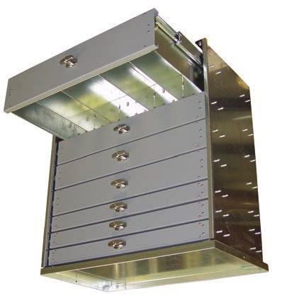 A M E R I C A N E A G L E American Eagle drawer systems are engineered to withstand extreme levels of use and abuse! D R AW E R S Y S T E M S Certified* 500 lb.