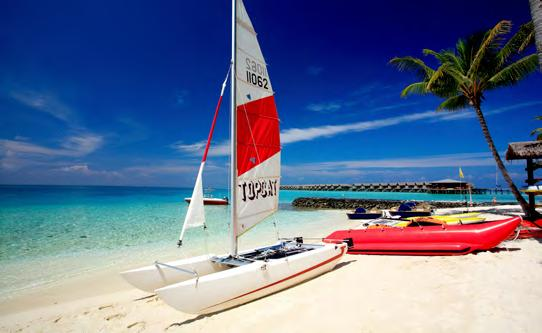 There s a wide range of water sports activities available, including windsurfing, paddle boarding, catamaran sailing, kayaks, snorkelling and pedal boats, plus scuba diving trips to any location in