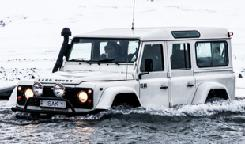 Activity Log Self Driving Experience Driving specially equipped Land Rovers through dramatic volcanic scenery Challenge