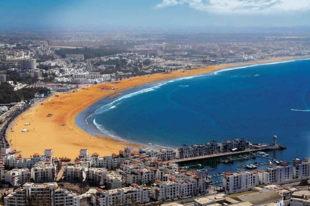 Agadir is famous for its beautiful bay and is host to many high-end hospitality and residential developments around the Marina 35 30 25 20 15 10 5 0 Since the beginning of the 1970s, Agadir has been
