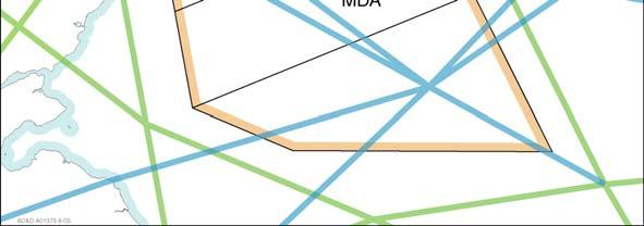 either all or portions of the Central MDA to be activated.