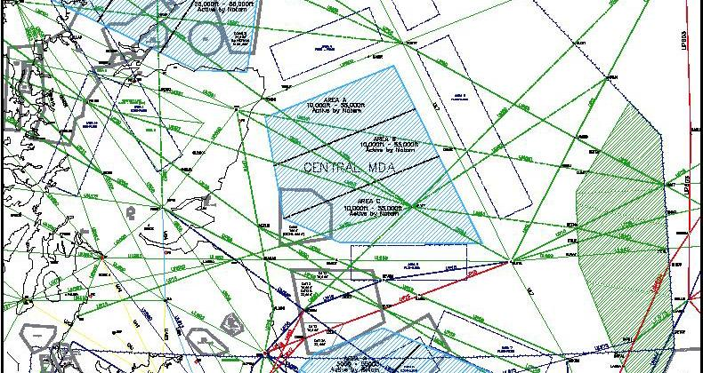 Managed Danger Areas - North Sea Design ACD A01354 09-02.