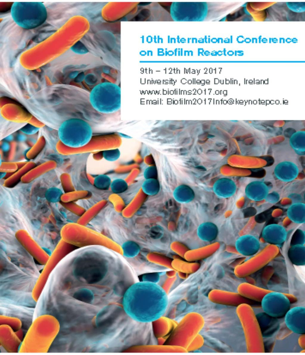 10 TH INTERNATIONAL CONFERENCE ON BIOFILM