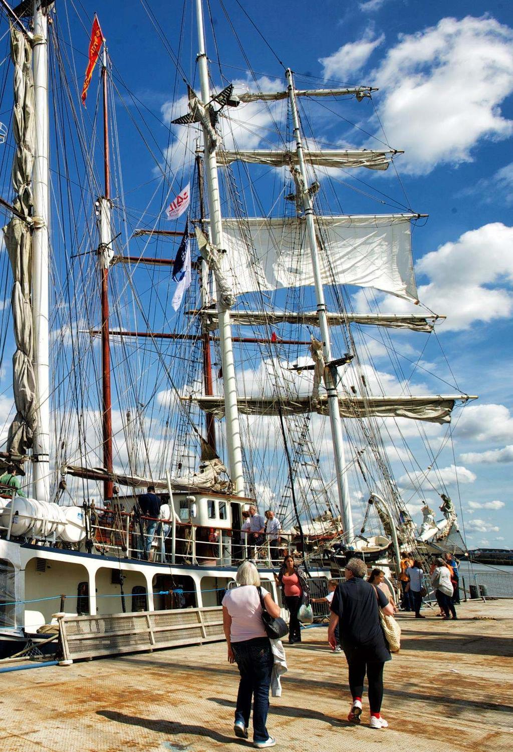 Visits to Moored Tall Ships Greenwich Boat shuttles from Greenwich to visit a Tall Ship Depart every 15 mins 1 hr visit including tour and opportunity to chat with crew Around 8 per person / 20