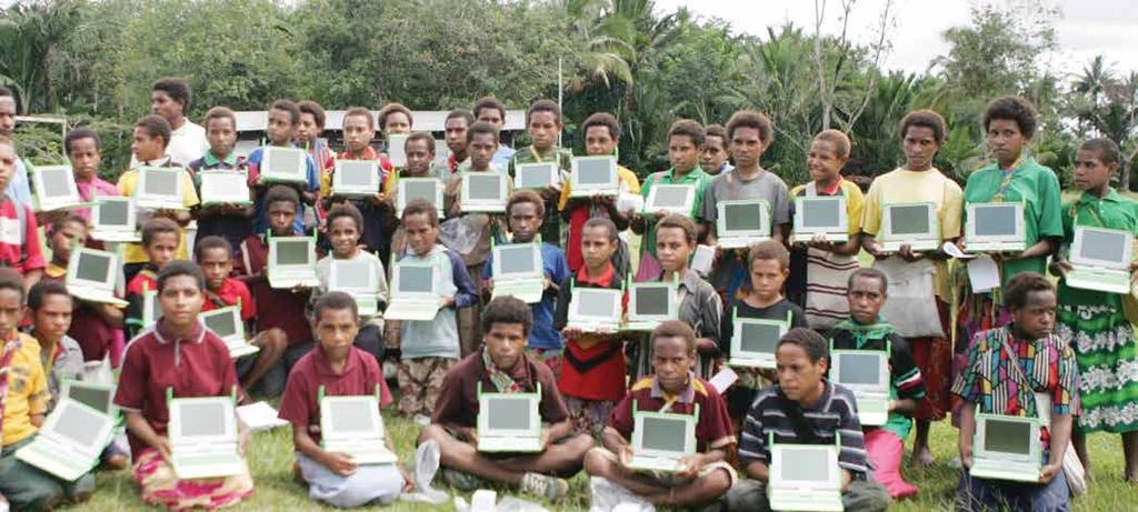 One Laptop per child 2010 Where the PNG people s money from Ok Tedi goes* Total dividends to end 2012 PNGSDP State $US4.8 billion** $US2.0 billion $US1.