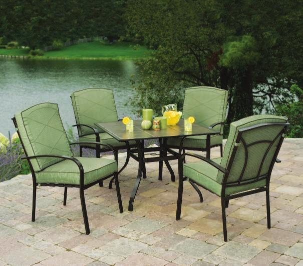 quiet serenity THE BAYVILLE Bayville Cushion Fabric BAYVILLE DINING SET Enjoy the feel