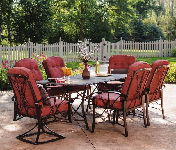 bold charm THE CHATHAM Chatham Cushion Fabric CHATHAM DINING SET Our finest quality set includes a