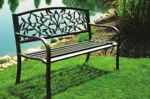 bench in antique bronze, sure to bring delight to young and old alike. Supports 120 lb. 800644 $49.