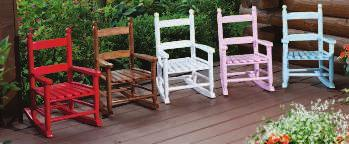A. KNOLLWOOD CLASSIC SWING Relax on your front porch in this kiln-dried hardwood swing. Durable and classic porch décor.