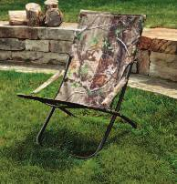 "5""W x 64""L x 44""H REALTREE FOLDING HAMMOCK CHAIR Durable powder coated steel frame with weather-resistant"