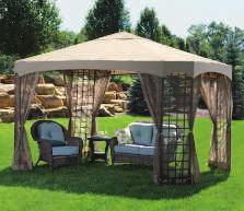 Includes all-around mosquito netting, ground stakes, tie-down cords, polyester canopy, and curtains with sewn-in tie backs. 800321 $279.