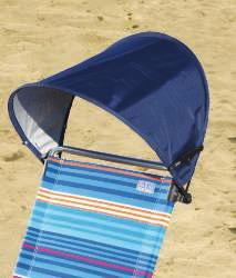 A. 6' BEACH UMBRELLA Helps screen out burning UV sunrays. Perfect for small children or anyone with sensitive skin.