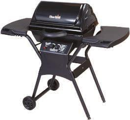 807586 $149.99 A A. 4-STAINLESS STEEL BURNERS GAS GRILL 40,000 BTU with 10,000 BTU side burner. 660 sq. in.