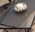 Powder coated steel frames and outdoor cushions are virtually maintenance free.