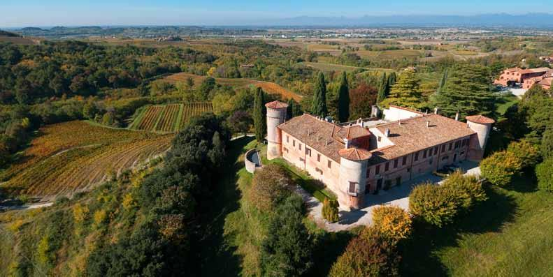 FRIULI based in Prepotto and Gradisca On the route of the Langobards, Franks, Patriarches of Aquileia and the counts of Goricia Self-guided tour approx.