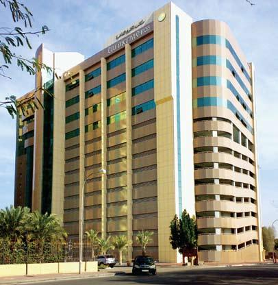 GULF EXECUTIVE OFFICES The Address that Conveys Success The newly opened Gulf Executive Offices includes a 600 bay multi-story car park and are located within the Gulf Hotel complex.