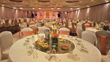 The state-of-the-art facility houses 29 venues and over 4,780 square meters of space to cater for all types of events.