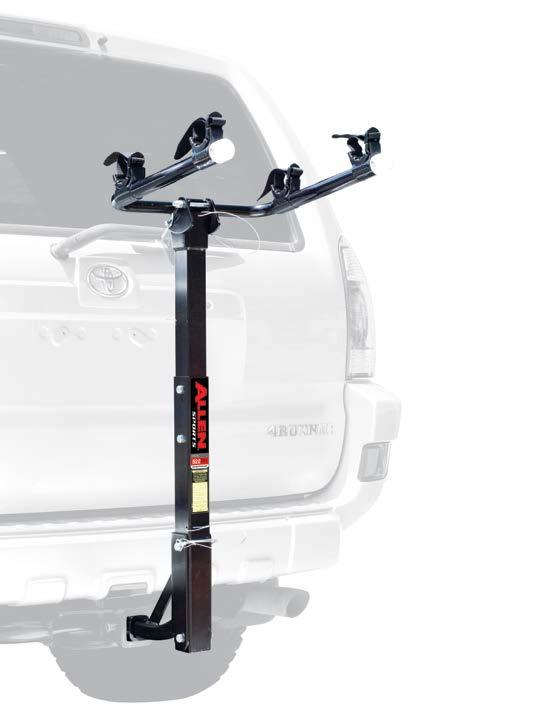 DELUXE 3-BIKE 1 1/4 & 2 HITCH MOUNTED CARRIER 532RR Hitch Insert Fits Either 1 1/4 Or 2 Receiver Hitches.    14