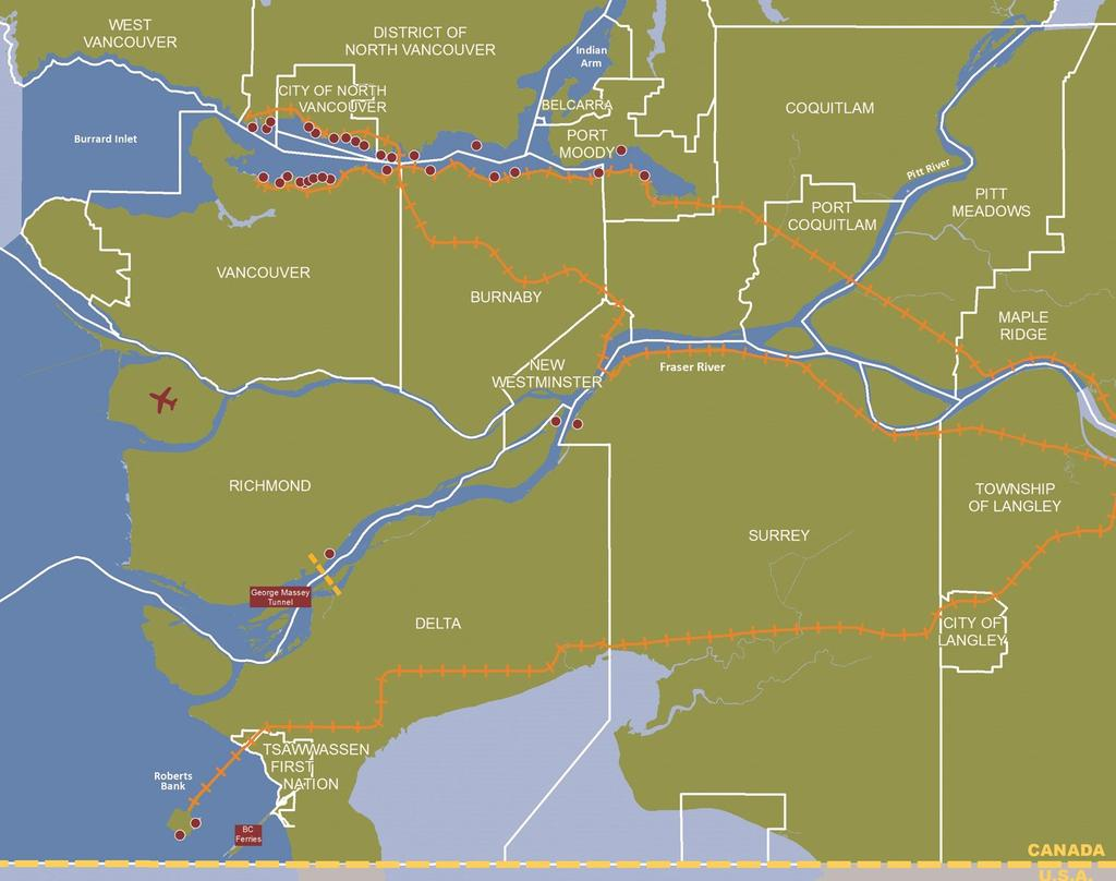 OUR JURISDICTION 640 kilometers of shoreline 16 municipalities One