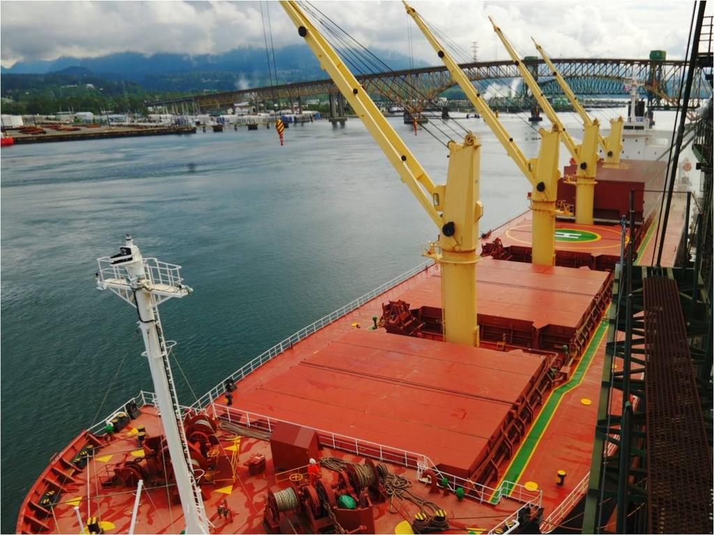 OPERATIONS & ASSETS 28 major marine cargo terminals 3,081 vessel calls in 2014 Serviced by 3