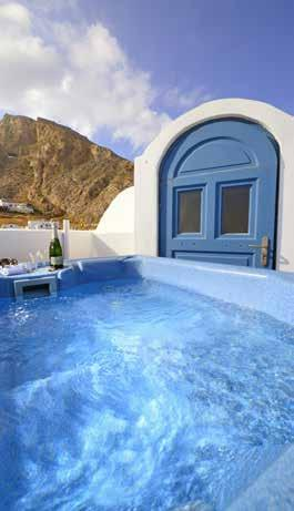 .. In the most beautiful seaside village of Santorini, Kamari, and only
