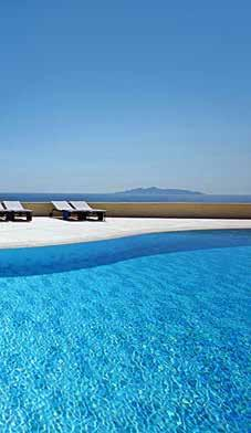 of Fira, 500 meters from the center of the capital of Santorini island, 7 Km from the airport and 9