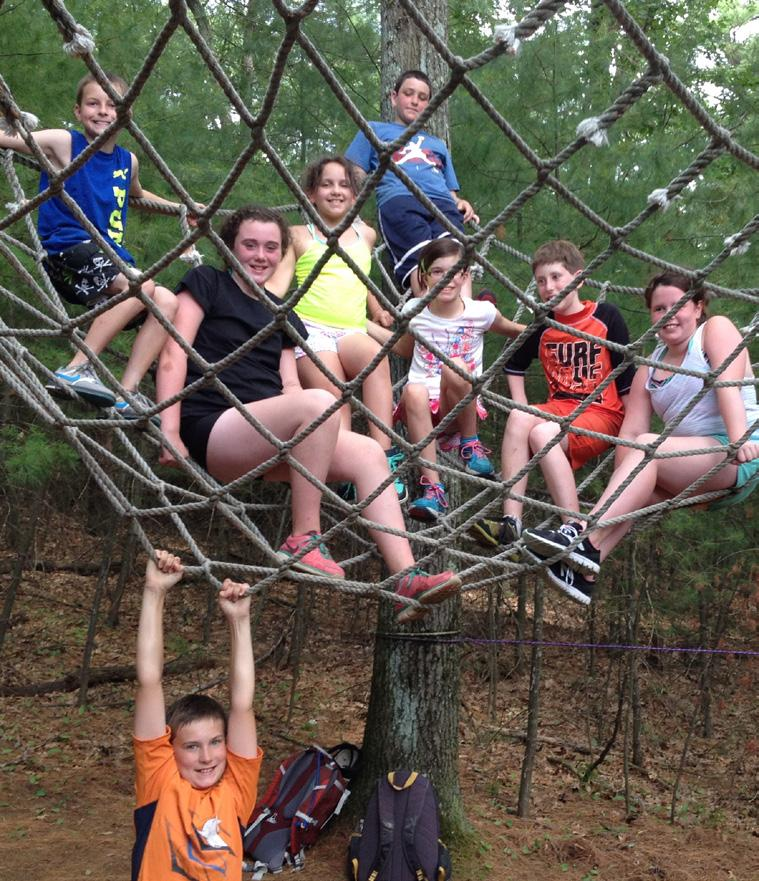 DATES: PRE-CAMP - Session 10 LOCATION: Stiles Pond, Boxford, MA TEEN ADVENTURE AGES 12-14 Building on the foundation of the Camp Wakanda tradition, Teen Adventure makes the most of the camp