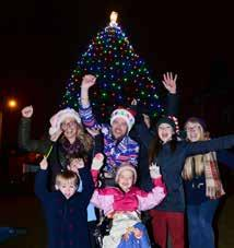 Of course, this special Festival would not be complete without the traditional and always popular Christmas tree lights switch on, led by volunteers from Bournville Village Council.