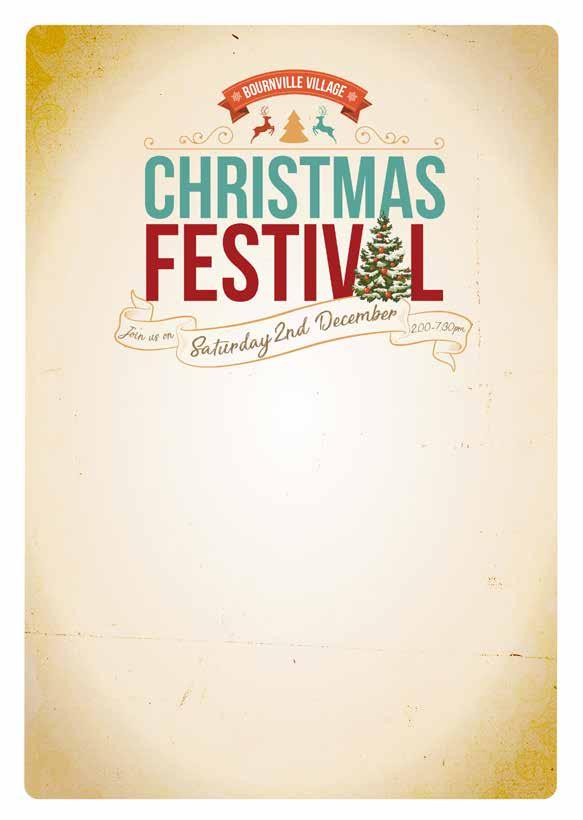 Bournville Christmas Festival is brought to you by