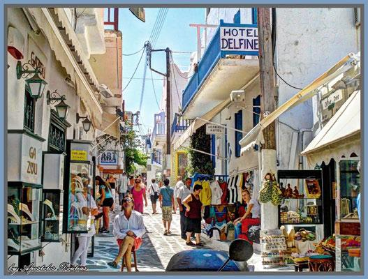 Enjoy the beautiful beaches of the island or enjoy some shopping for handmade goods.