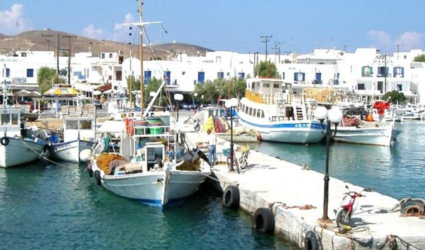 Monday, October 2: Paros Excursion to Antiparos (B,L) We ll be picked up this morning and take the short ferry ride to Antiparos.