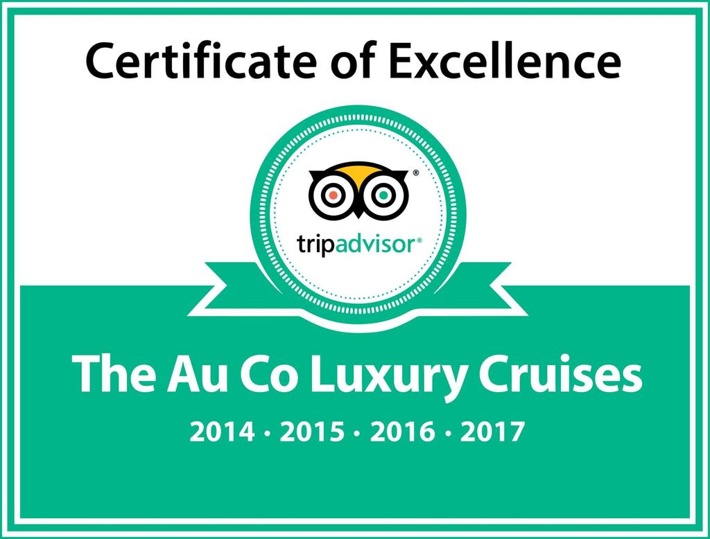 TRIPADVISOR CERTIFICATE We are proud to win the TripAdvisor Certificate of Excellence Award four consecutive years.