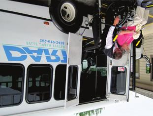 4 CITY RECOMMENDATIONS (CONTINUED) City Recommendation 2: Improve Coordination between City and County Paratransit Services The City operates the Dial-A-Ride Transport (DART) service, providing